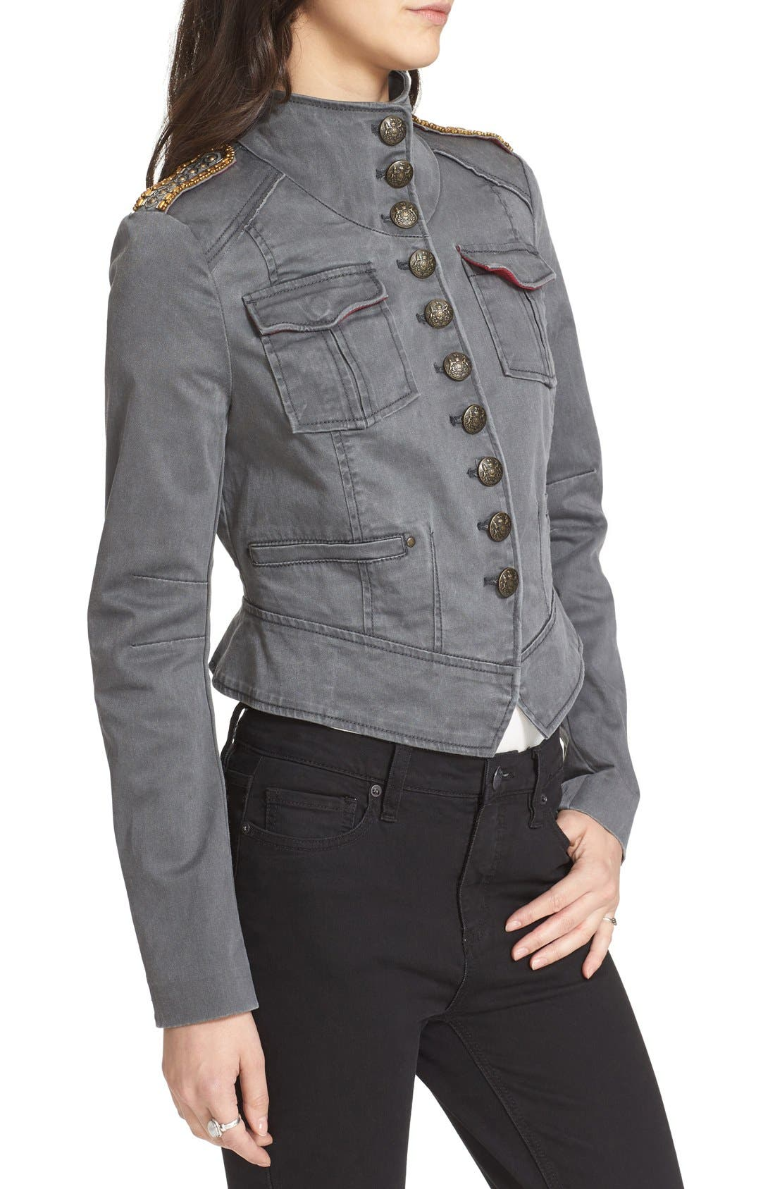 Alternate Image 3  - Free People Shrunken Officer Jacket
