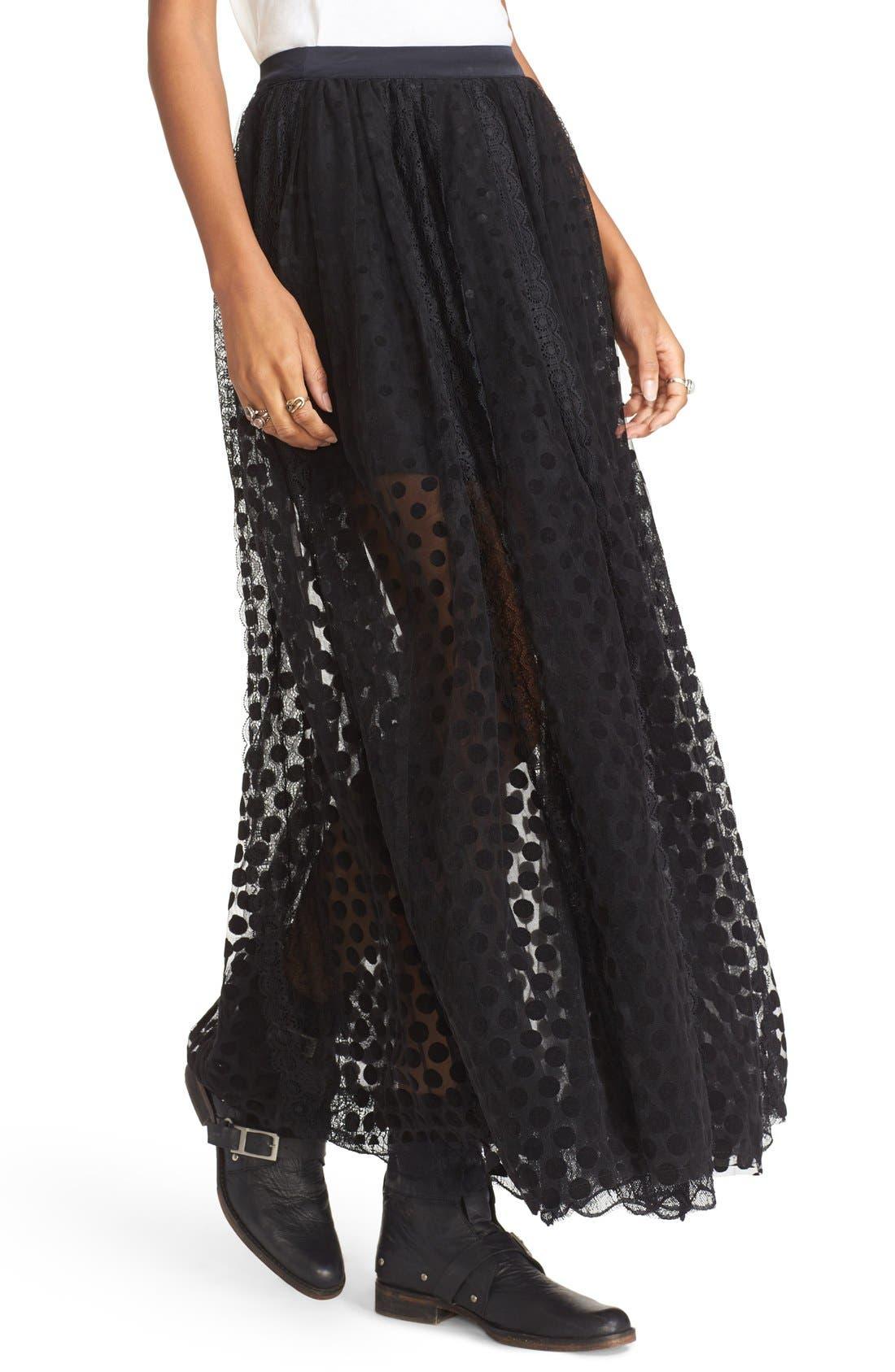 Alternate Image 4  - Free People Dreaming Of You Mesh Tutu Skirt