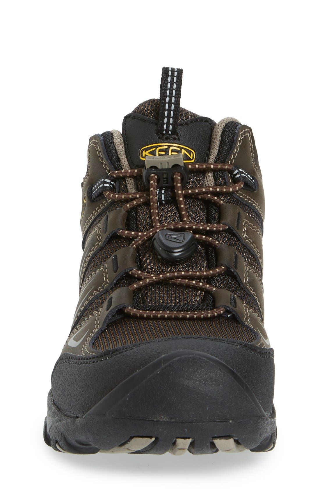 'Oakridge' Waterproof Hiking Boot,                             Alternate thumbnail 3, color,                             Brown