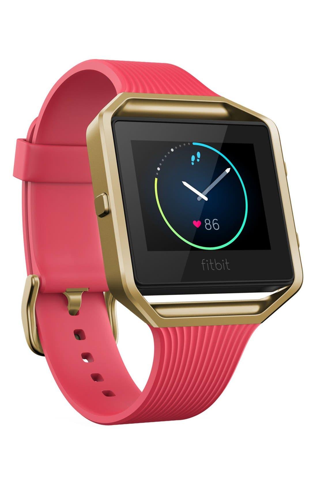 'Blaze' Slim Band Smart Fitness Watch, 40mm,                         Main,                         color, Pink Gold