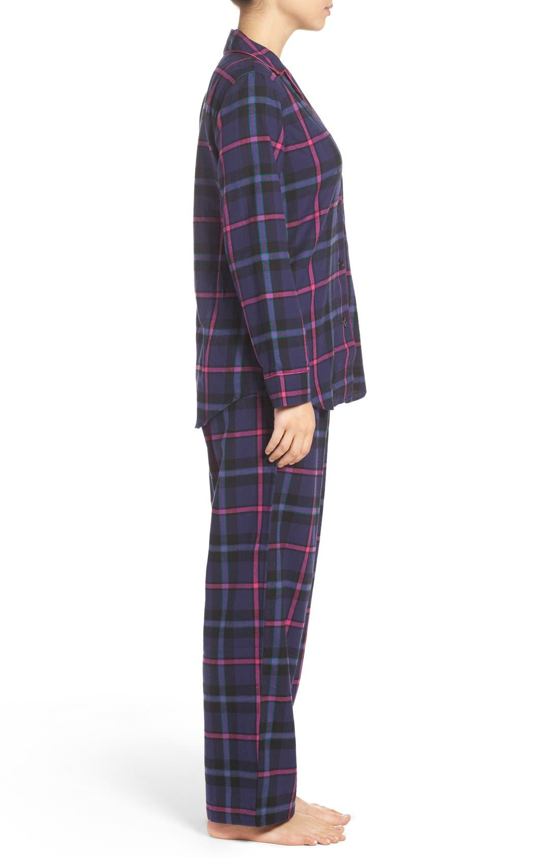 Alternate Image 4  - Lauren Ralph Lauren Twill Pajamas