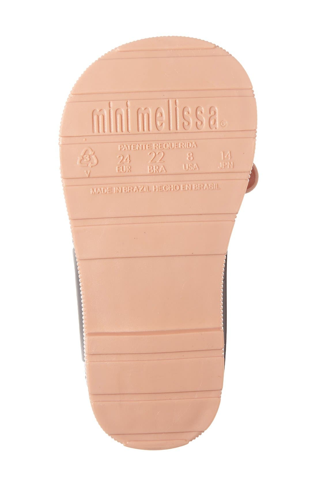 Alternate Image 4  - Mini Melissa 'Mini Sugar' Rain Boot (Walker & Toddler)