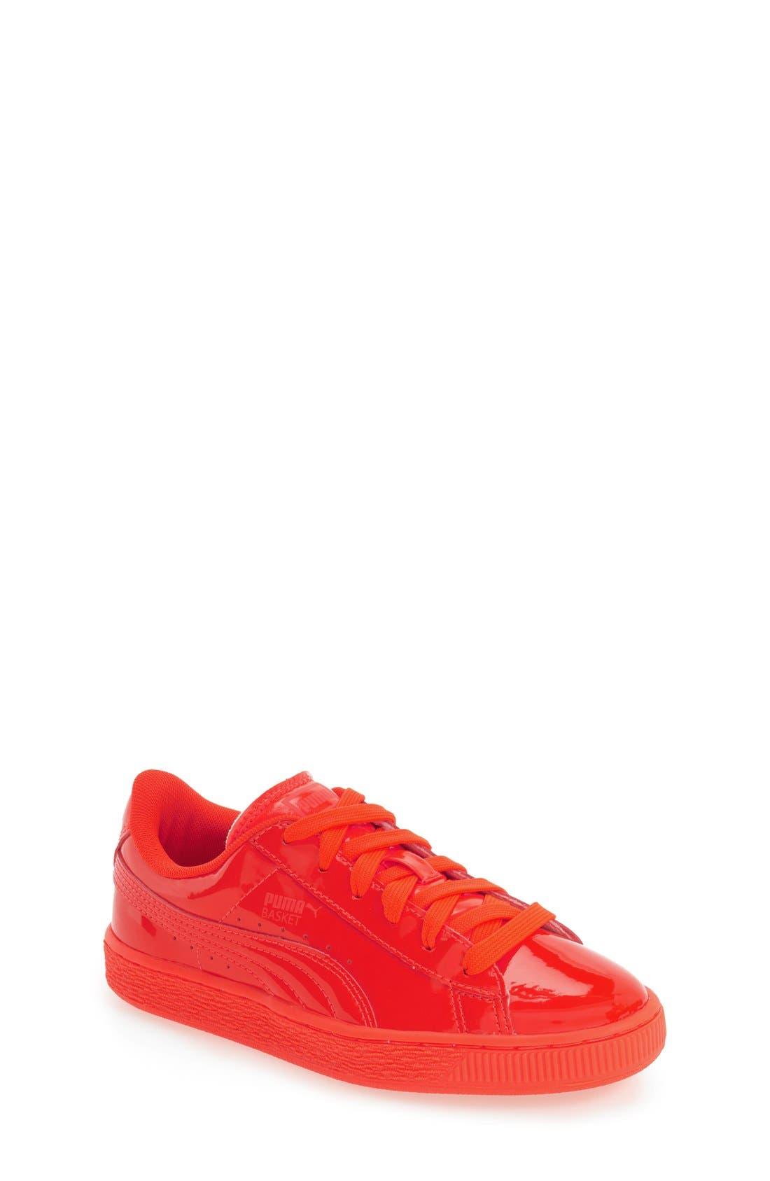'Basket Classic' Sneaker,                         Main,                         color, Red Blast/ Red Blast