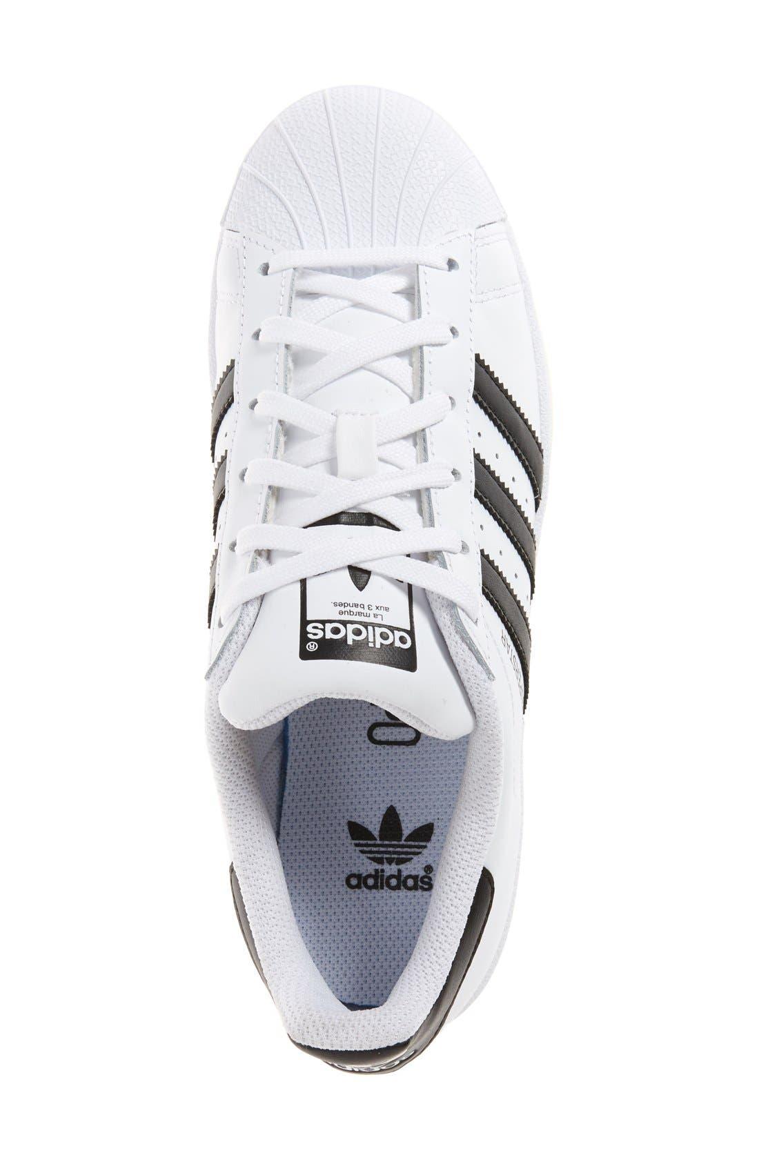 Alternate Image 3  - adidas Superstar Ice Sneaker (Big Kid)