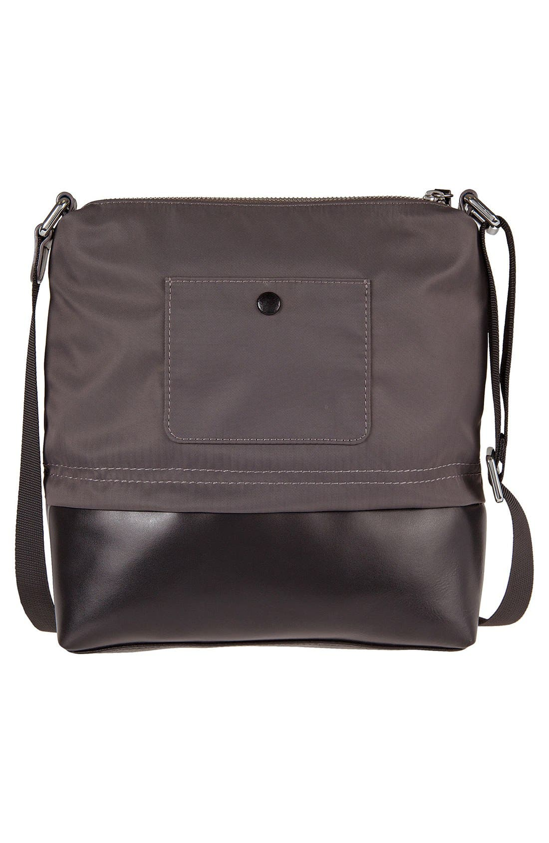Alternate Image 2  - LODIS Wanda RFID Nylon & Leather Crossbody Bag