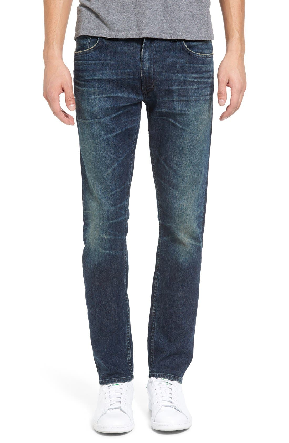 Bowery Slim Fit Jeans,                             Main thumbnail 1, color,                             Wild