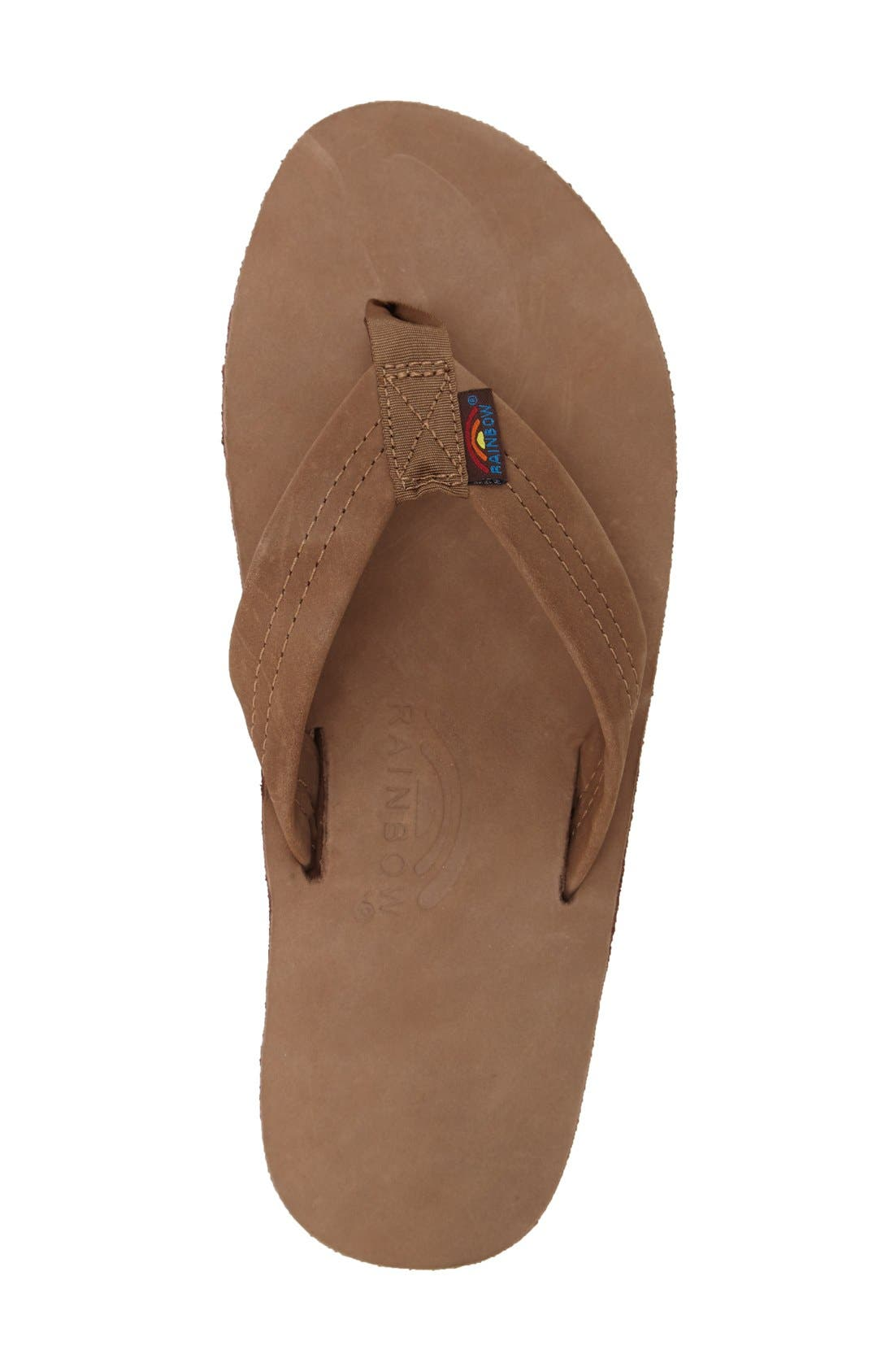 '301Alts' Sandal,                             Alternate thumbnail 3, color,                             Dark Brown