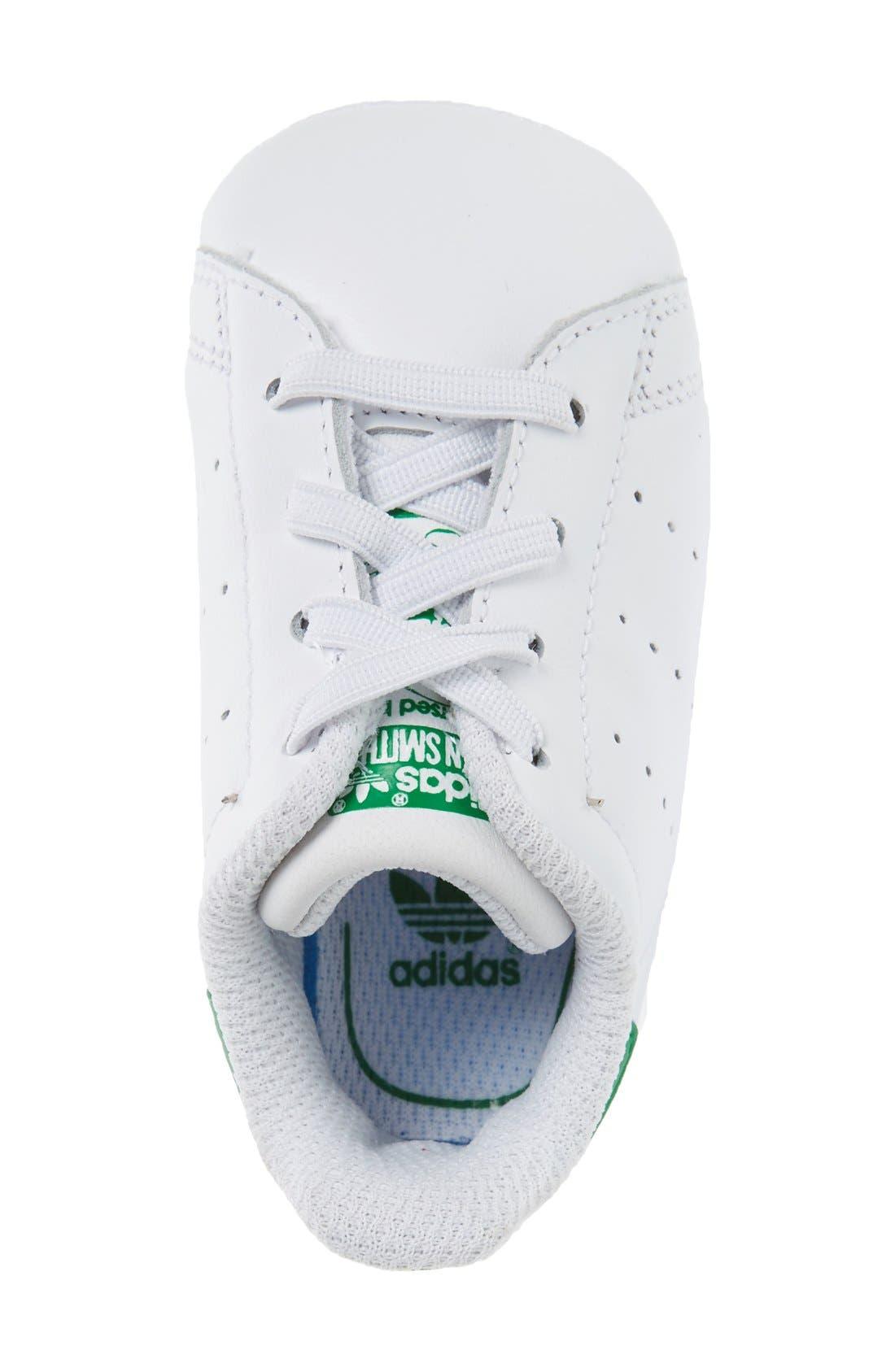 Alternate Image 3  - adidas Stan Smith Crib Sneaker (Baby)