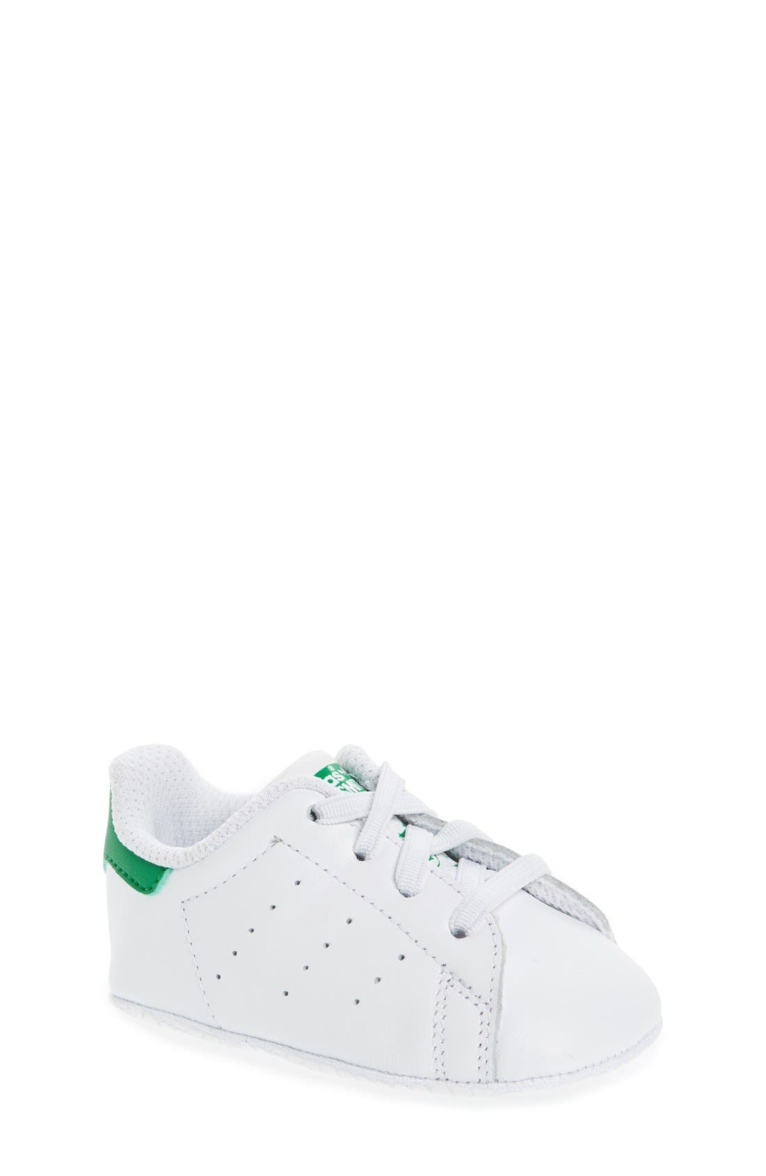 Alternate Image 1 Selected - adidas Stan Smith Crib Sneaker (Baby)