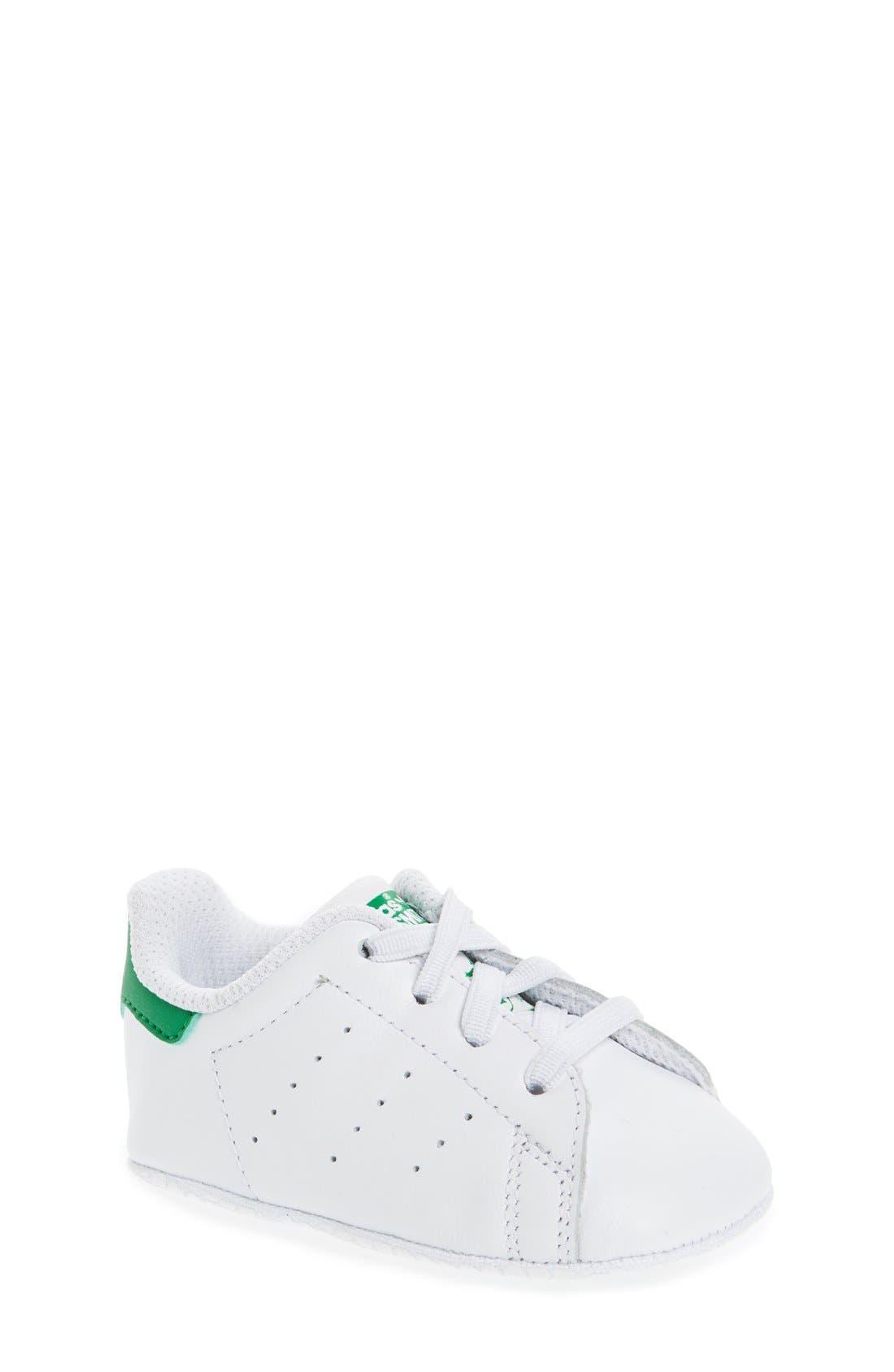 Main Image - adidas Stan Smith Crib Sneaker (Baby)