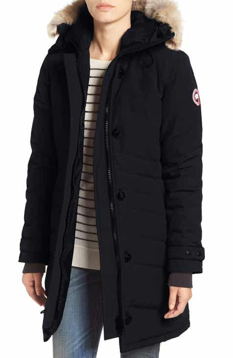 Canada Goose  Lorette  Hooded Down Parka with Genuine Coyote Fur Trim 5696f4709023