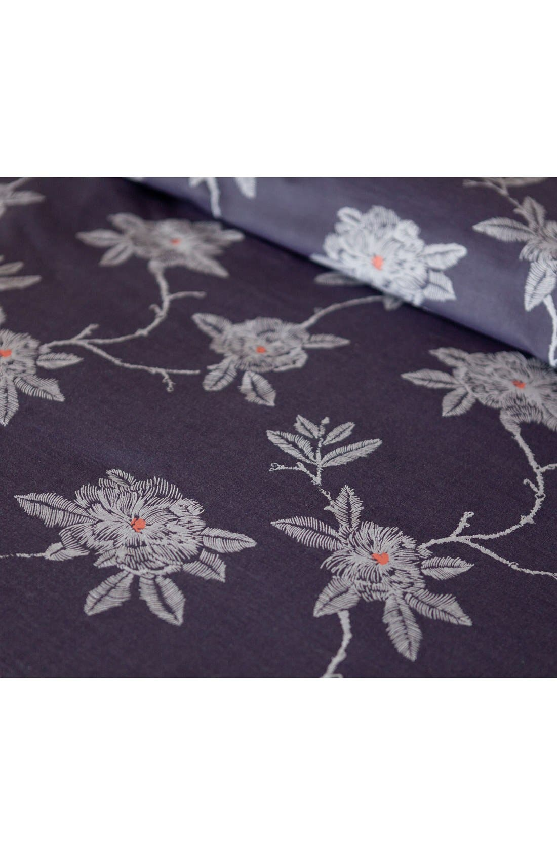 Alternate Image 3  - cupcakes & cashmere Sketch Floral Duvet Cover