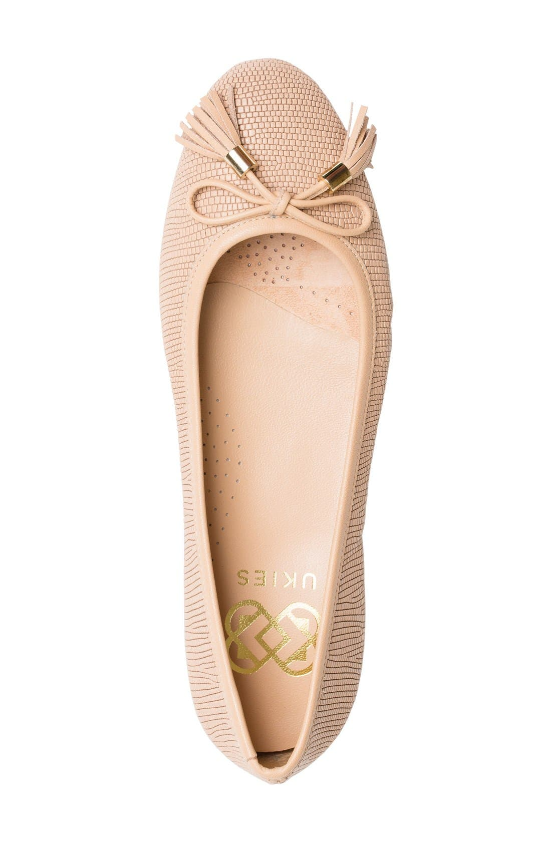 Alternate Image 3  - UKIES Lara Ballet Flat (Women)
