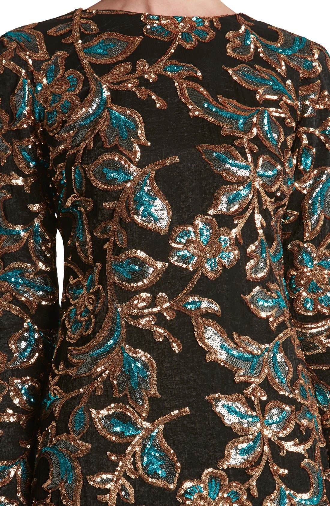 Alternate Image 5  - Dress the Population 'Naomi' Sequin Minidress