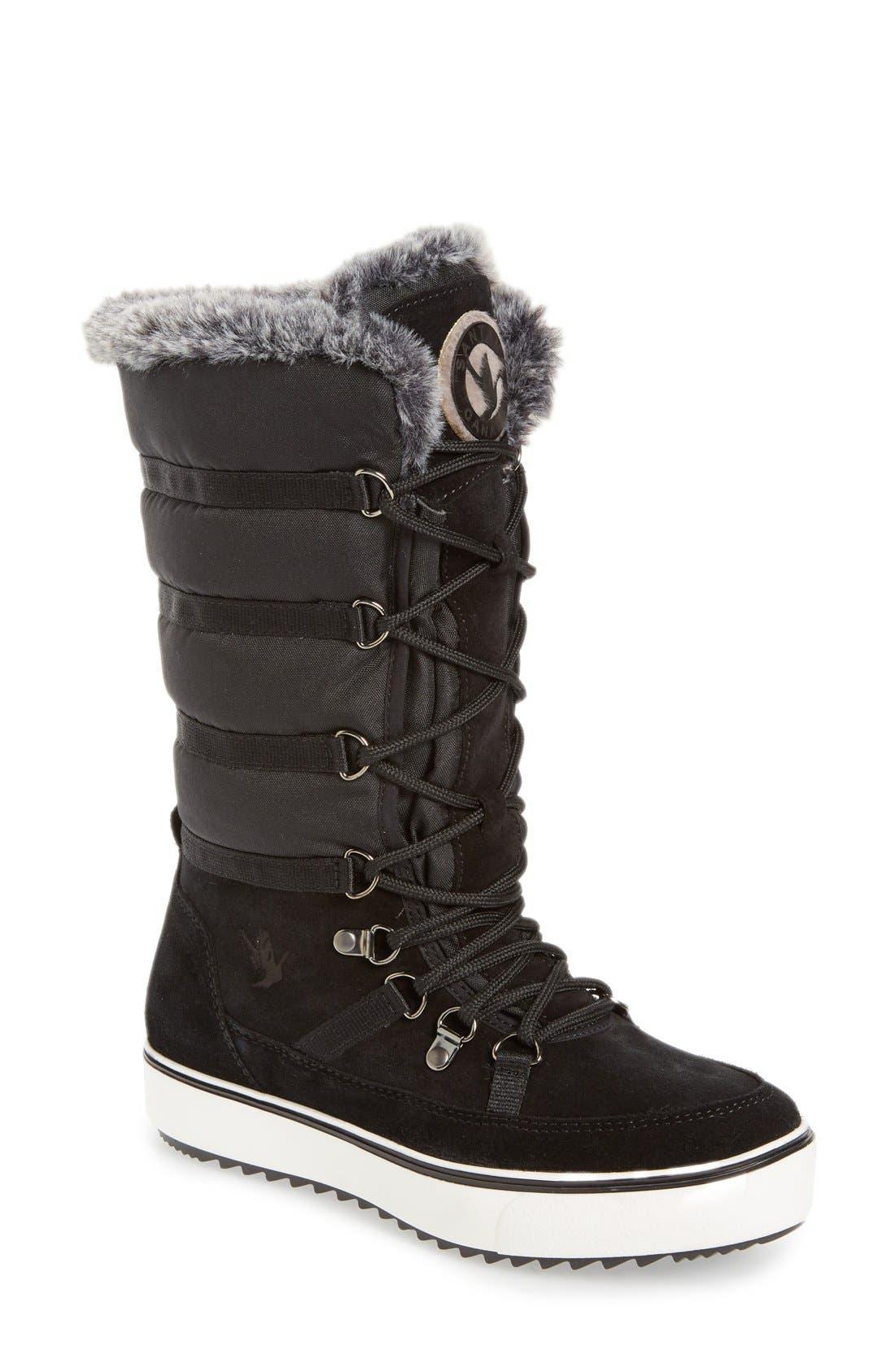 Main Image - Santana Canada 'Mackenzie' Faux Fur Waterproof Boot (Women)