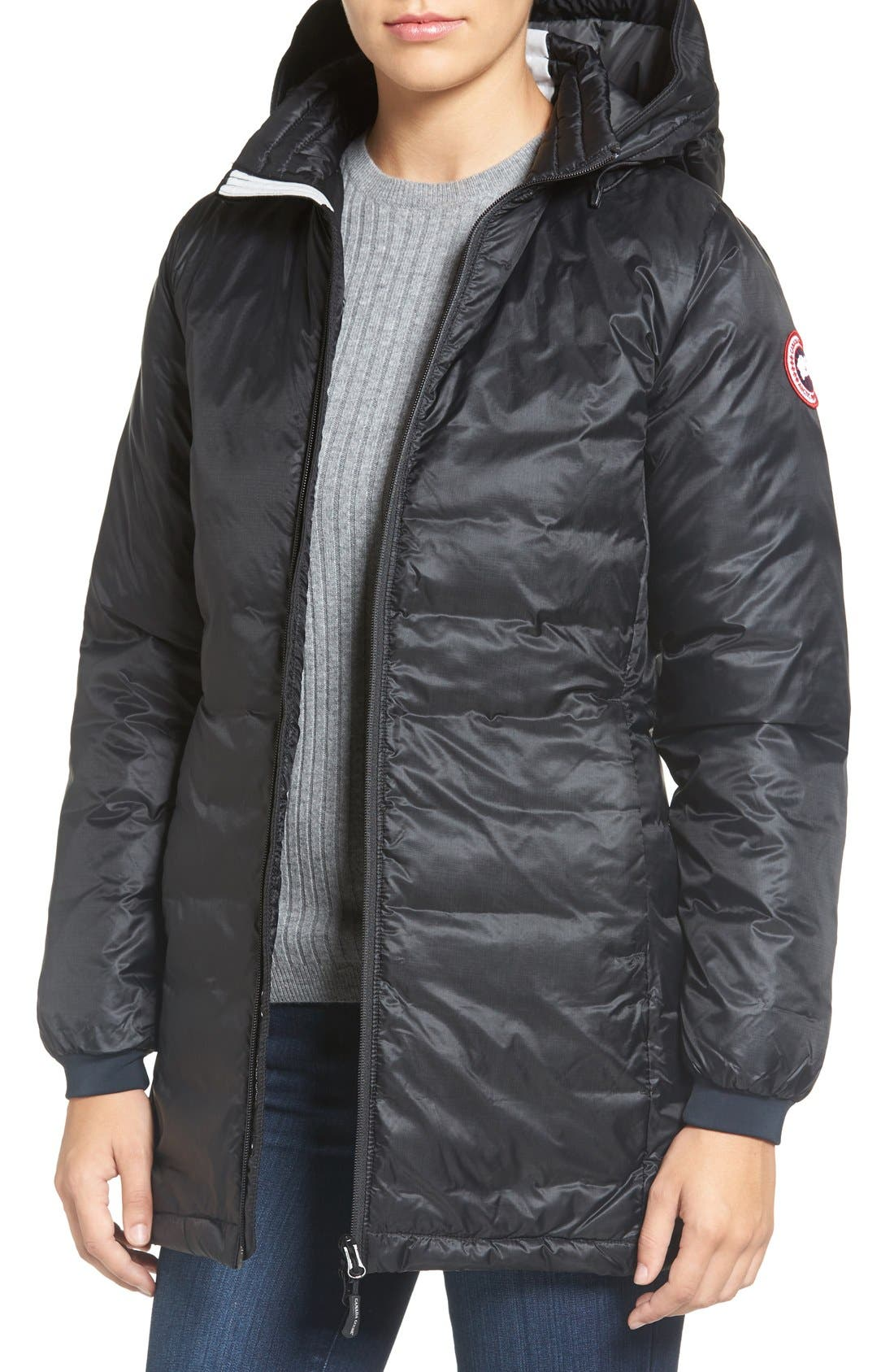 Main Image - Canada Goose 'Camp' Slim Fit Hooded Packable Down Jacket
