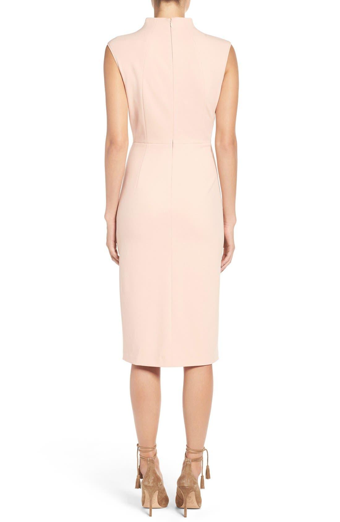 Alternate Image 2  - Ivanka Trump Crepe Midi Dress