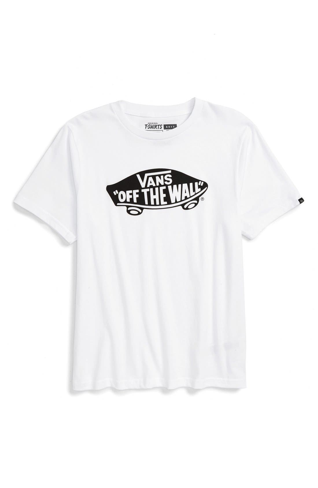 Vans 'Off The Wall' Graphic T-Shirt (Big Boys)
