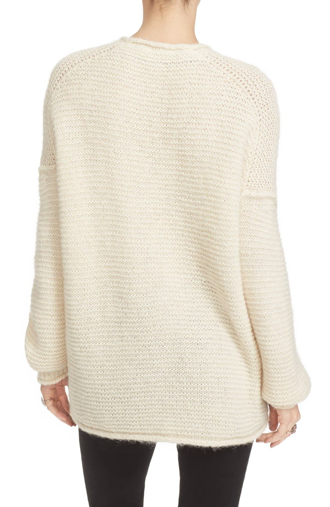 All Mine Sweater,                             Alternate thumbnail 2, color,                             Ivory