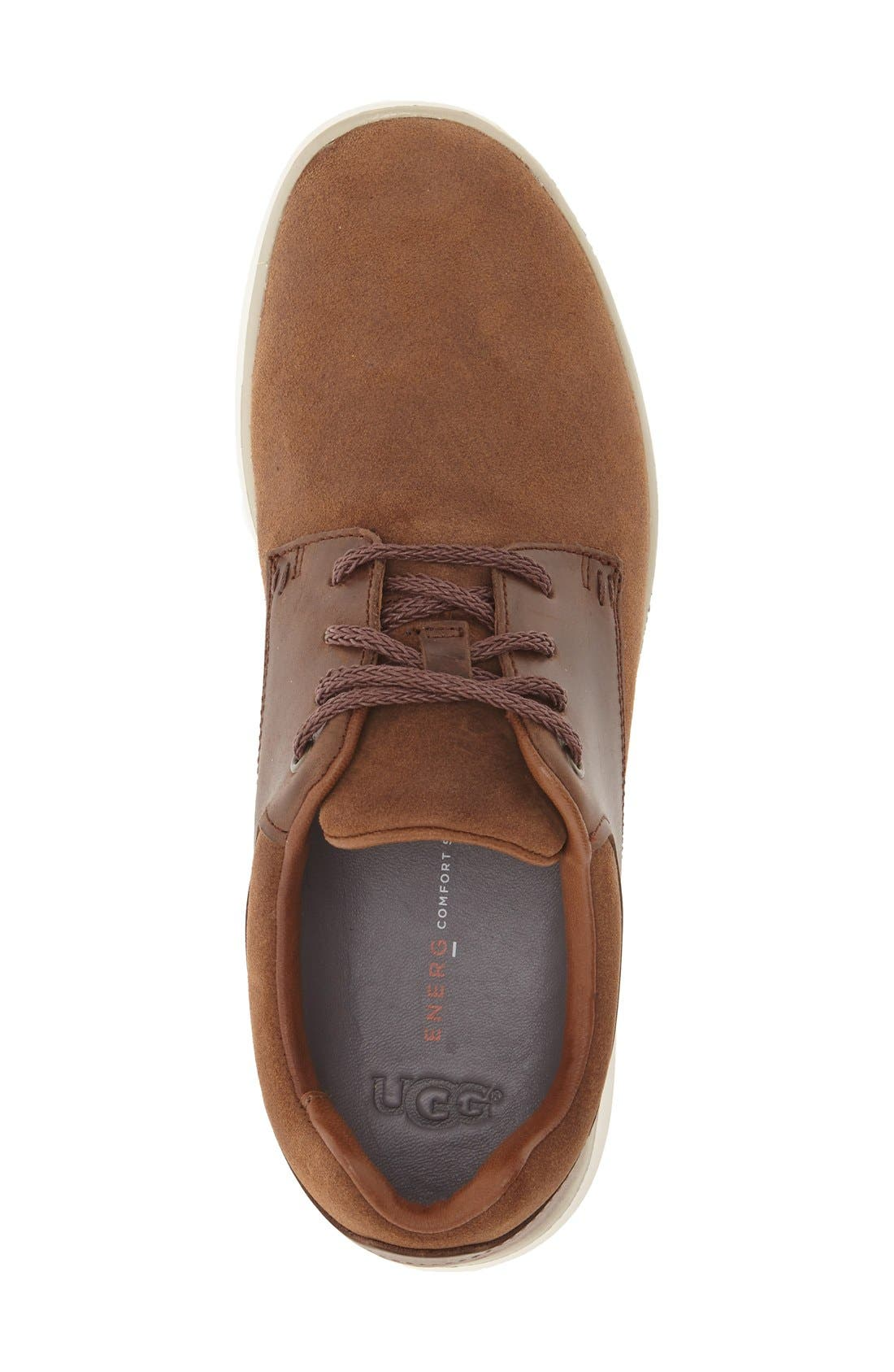 'Hepner' Sneaker,                             Alternate thumbnail 3, color,                             Chestnut