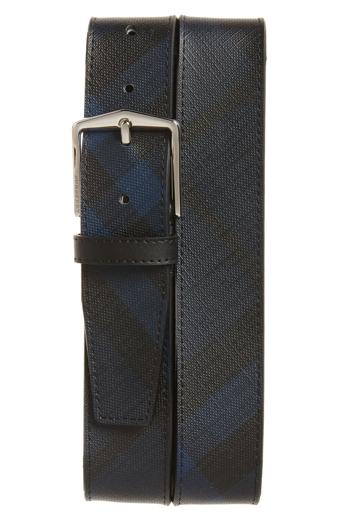 Main Image - Burberry 'Joe' Check Pattern Belt