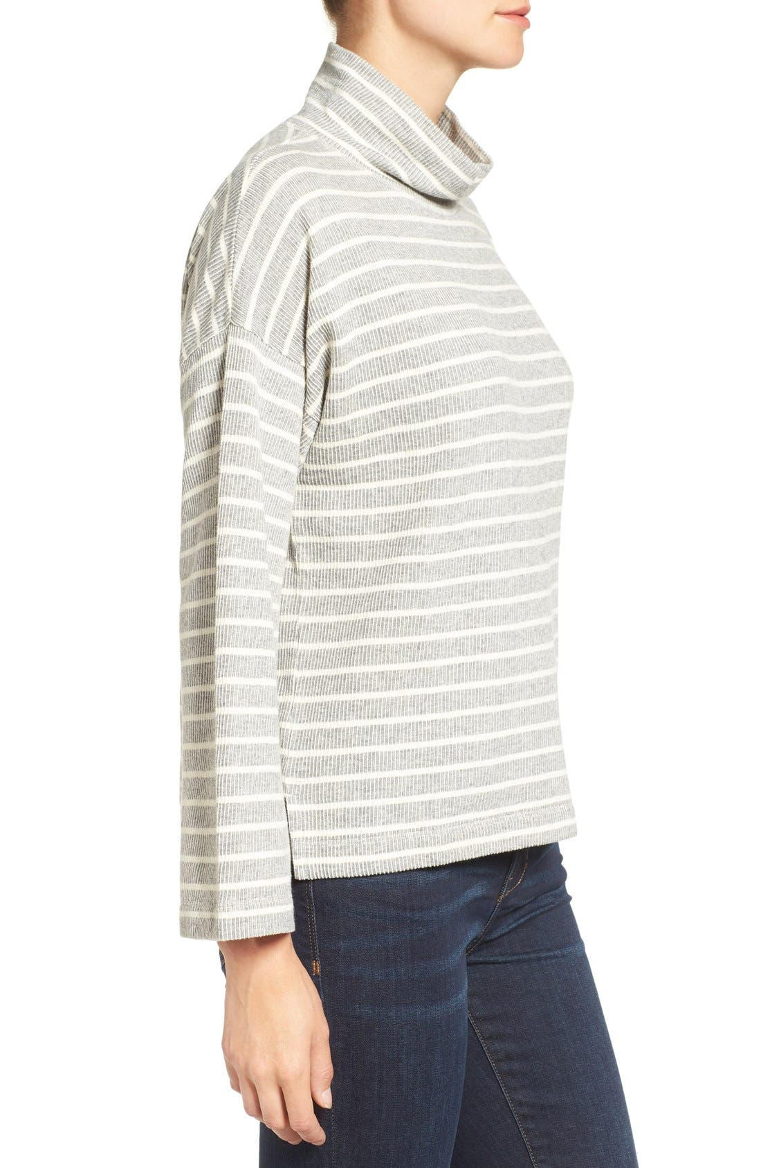 Alternate Image 3  - Madewell Note Funnel Neck Pullover