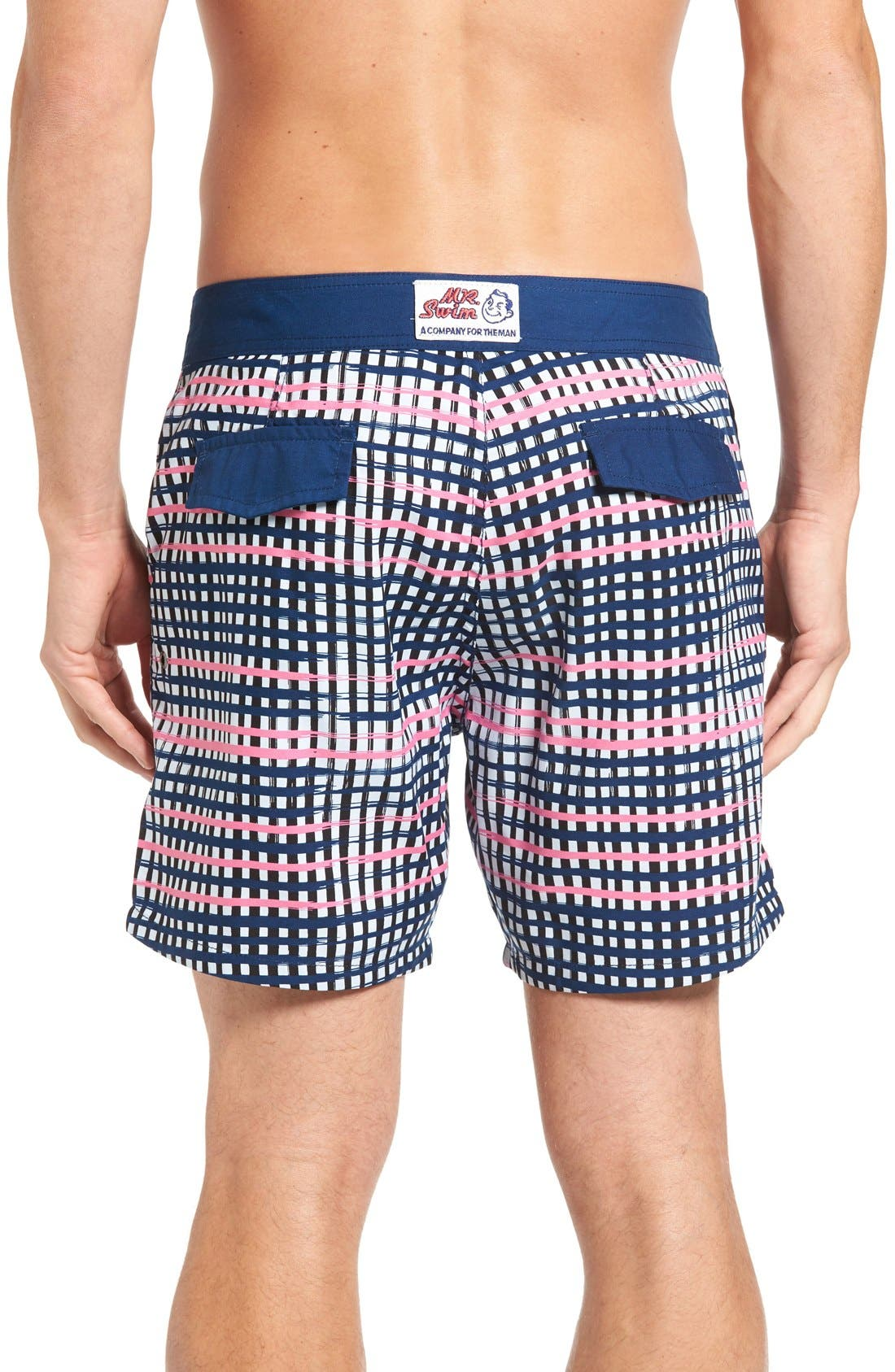 Alternate Image 2  - Mr.Swim Plaid Board Shorts