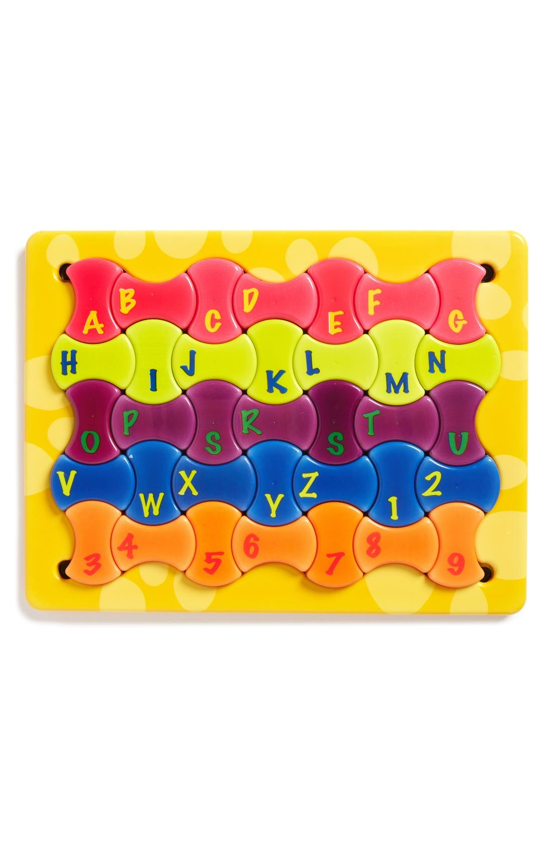 'Sensory Puzzle Mat' Game,                             Main thumbnail 1, color,                             Yellow