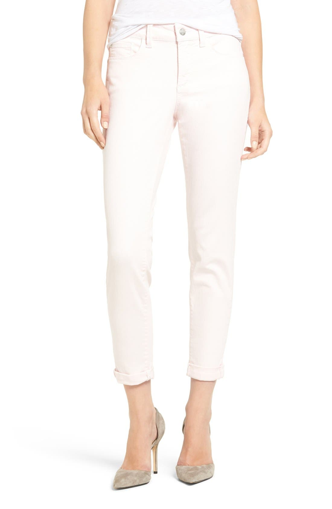 Alternate Image 1 Selected - NYDJ Alina Convertible Ankle Jeans (Regular & Petite)