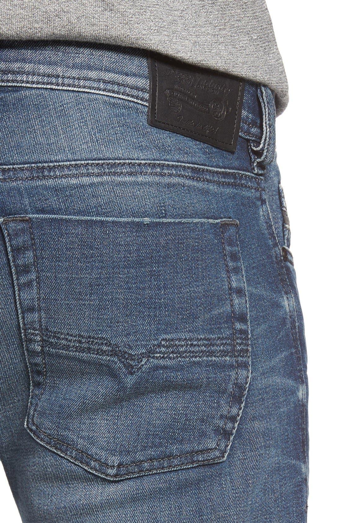 Zatiny Bootcut Jeans,                             Alternate thumbnail 4, color,                             857N