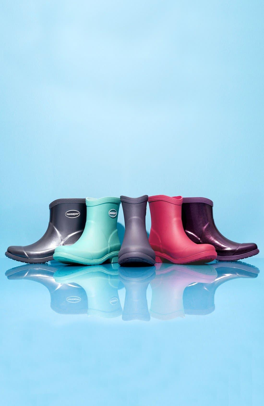 Alternate Image 5  - Havaianas 'Galochas Low Matte' Waterproof Rain Boot (Women)