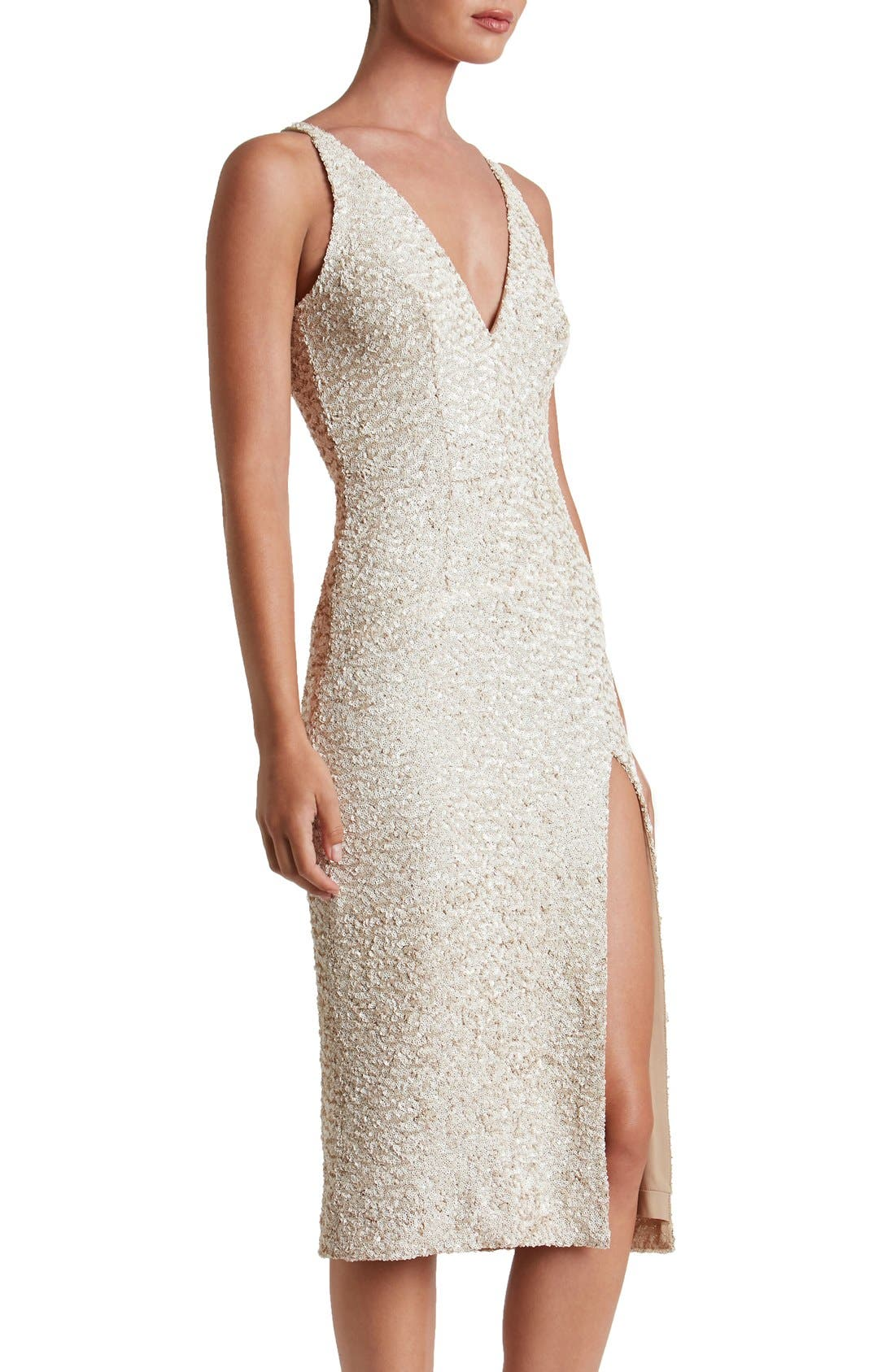 Alternate Image 4  - Dress the Population Camilla Sequin Dress