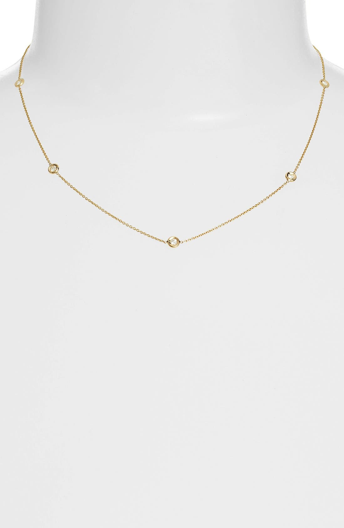 Roberto Coin Diamond Station Necklace