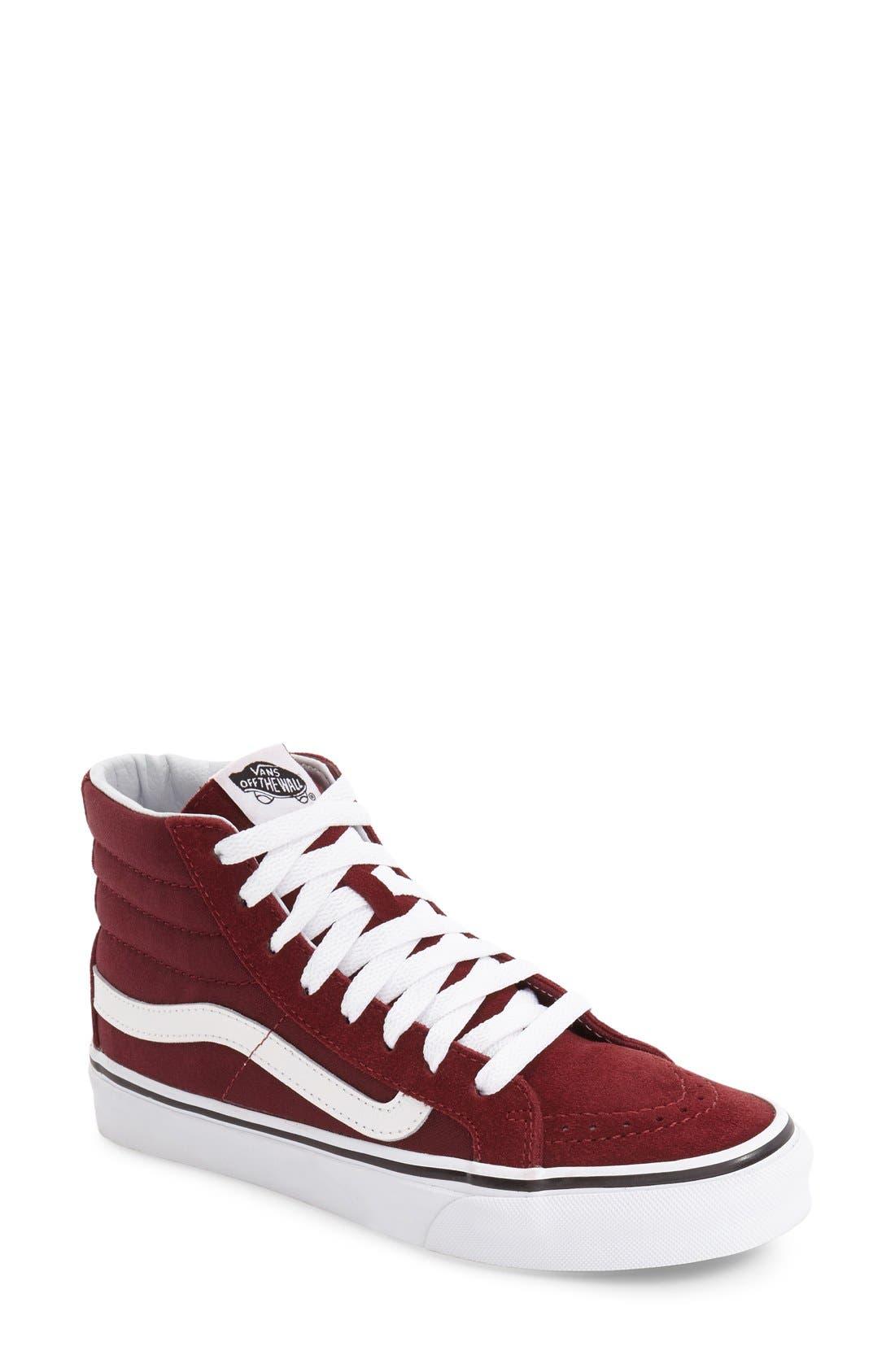 Vans Sk8-Hi Slim High Top Sneaker (Women)