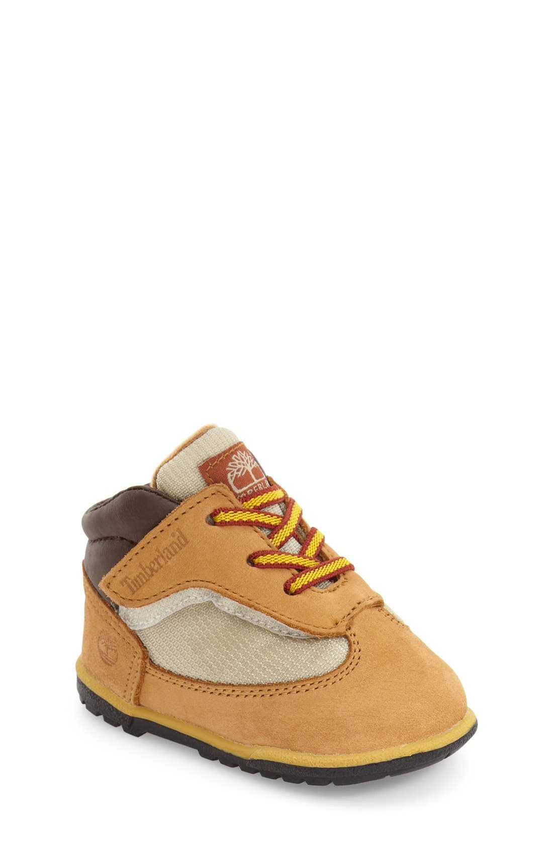 Main Image - Timberland Field Crib Boot (Baby)