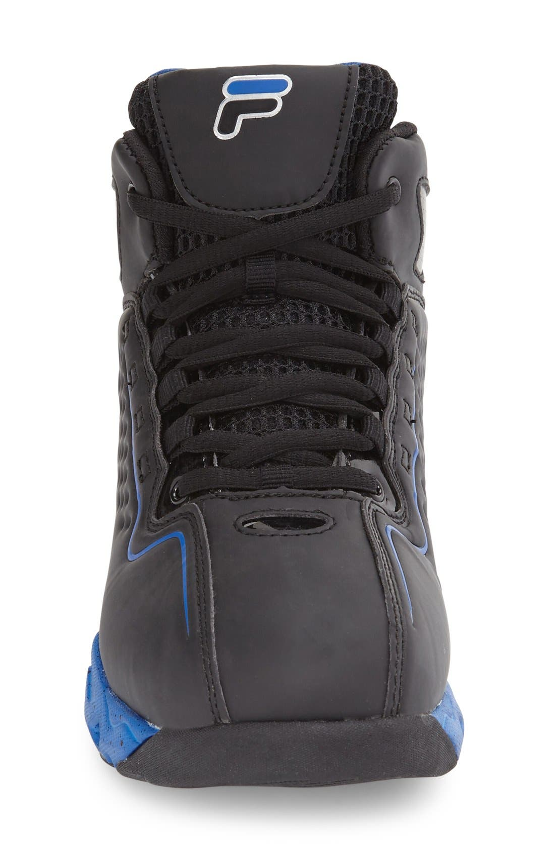 Big Bang High Top Sneaker,                             Alternate thumbnail 3, color,                             Black/ Prince Blue
