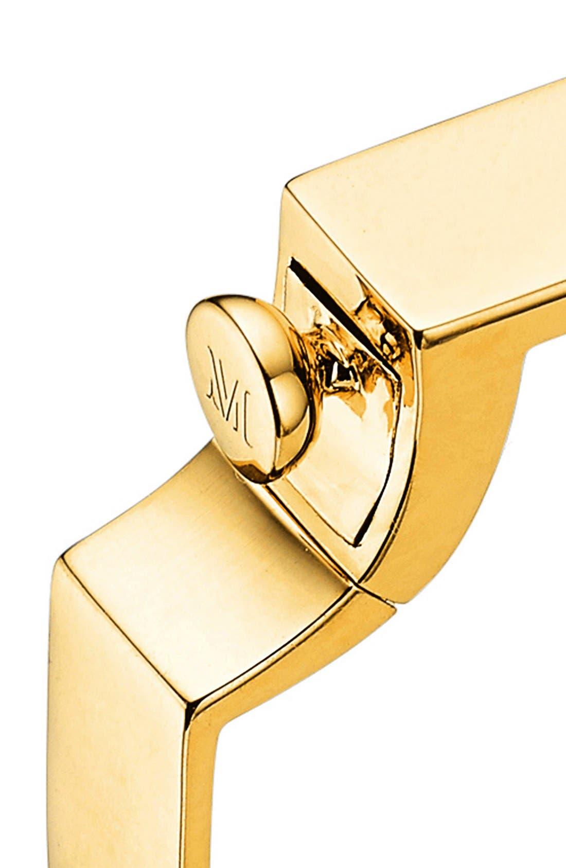 Engravable Signature Bangle,                             Alternate thumbnail 4, color,                             Gold