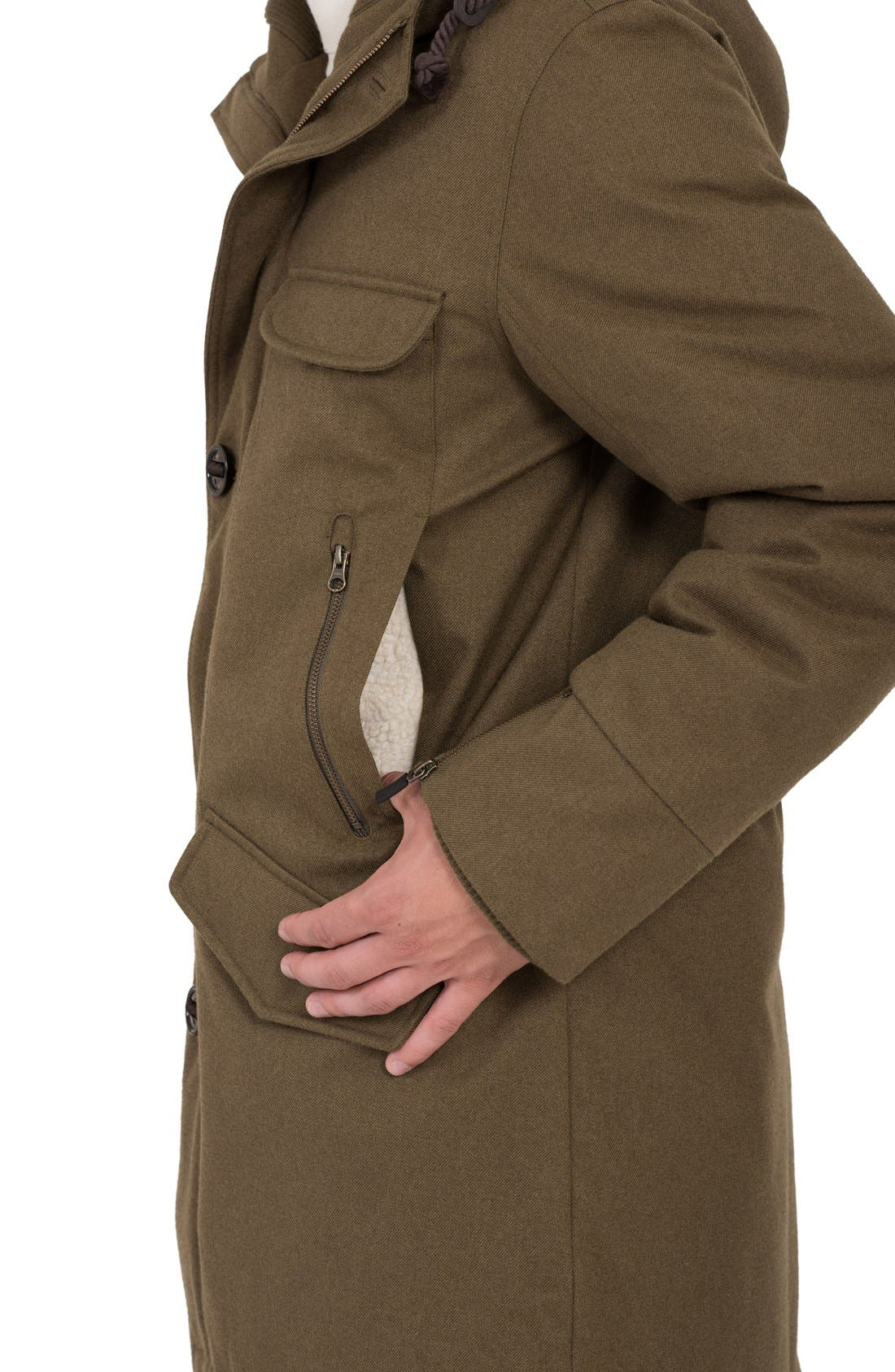 Fishtail Parka,                             Alternate thumbnail 3, color,                             Military