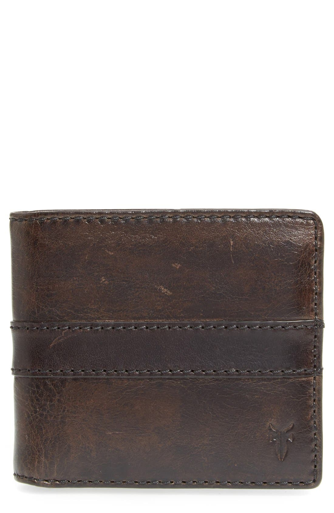 Main Image - Frye 'Oliver' Leather Billfold Wallet