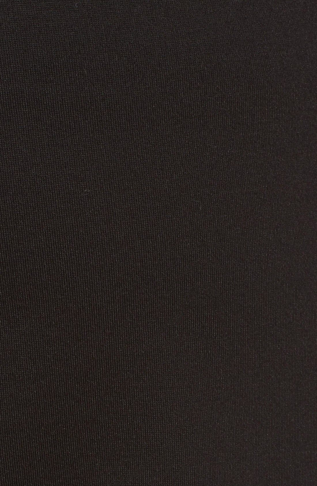 Slim Crop Pants,                             Alternate thumbnail 5, color,                             Black