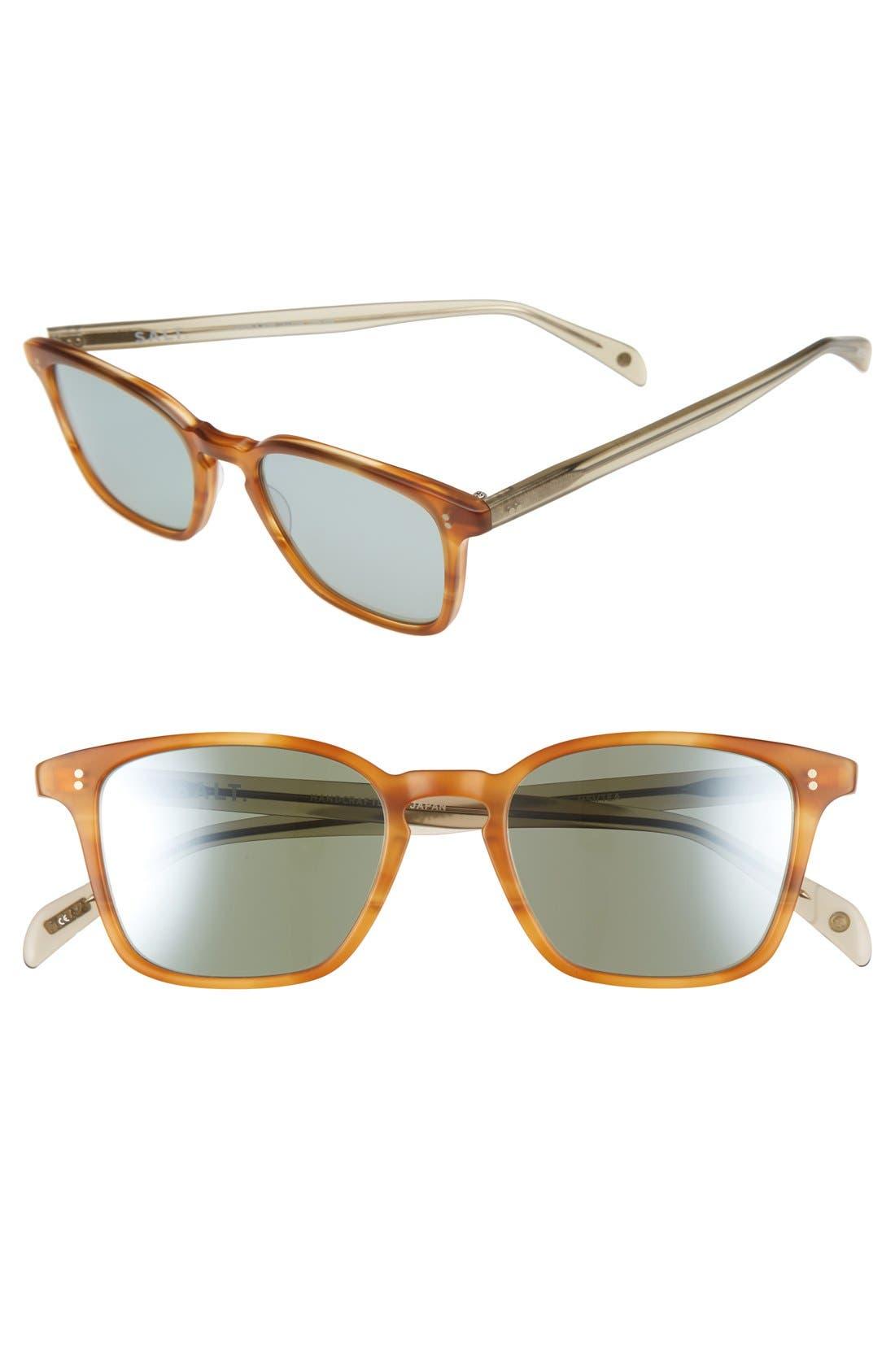 Murdock 51mm Polarized Sunglasses,                         Main,                         color, Matte Sienna / Tea