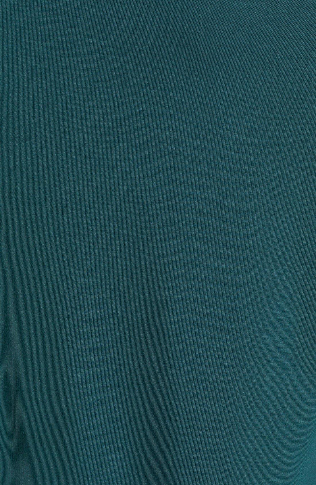 'Luna' Long Sleeve Tee,                             Alternate thumbnail 5, color,                             Green