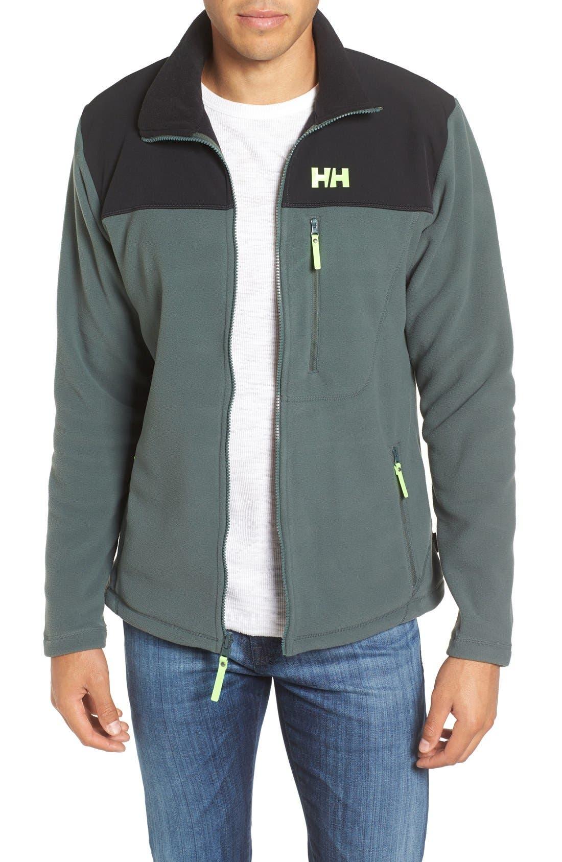 Sitka Fleece Jacket,                         Main,                         color, Rock
