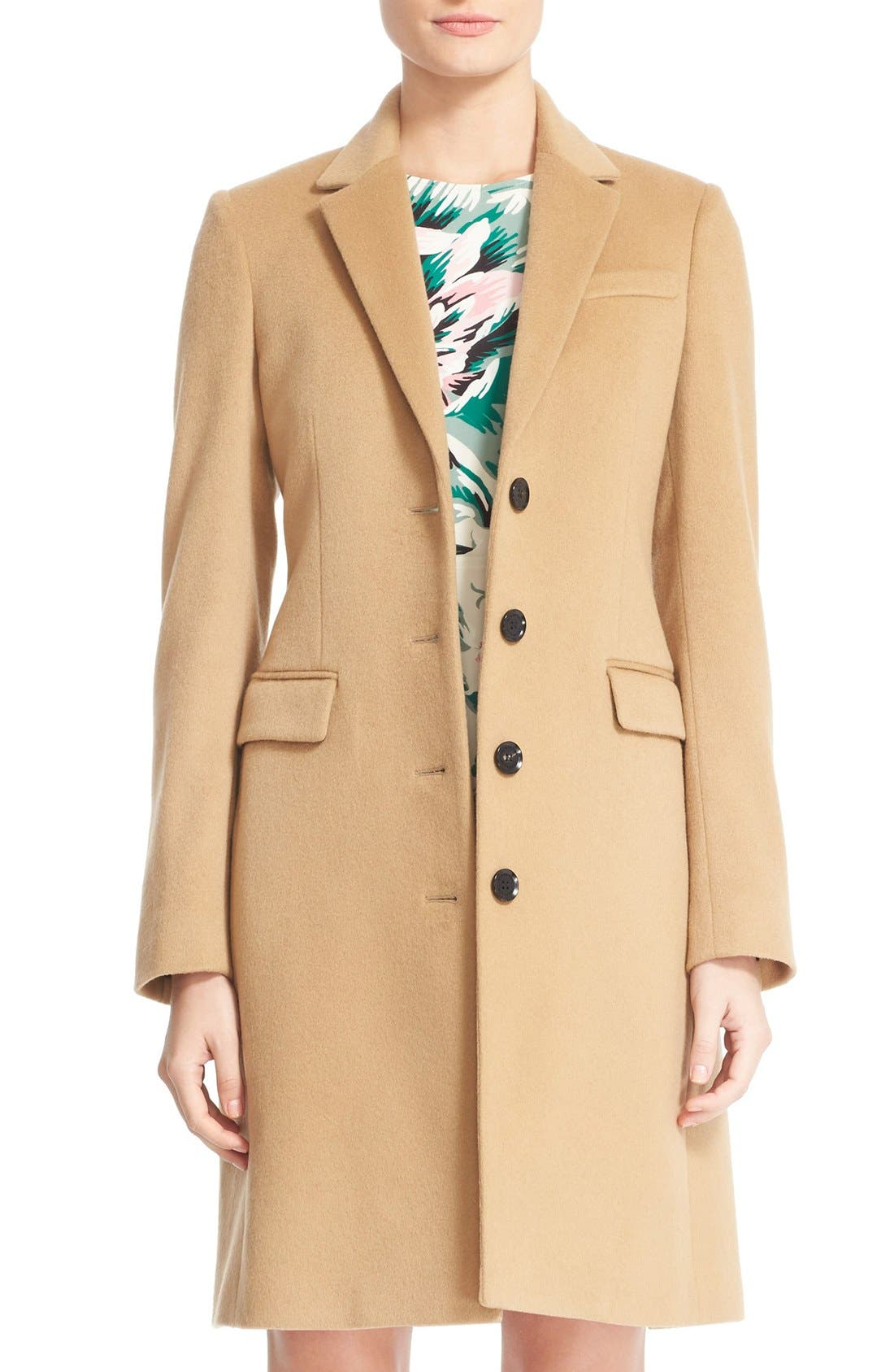 BURBERRY Sidlesham Wool & Cashmere Coat