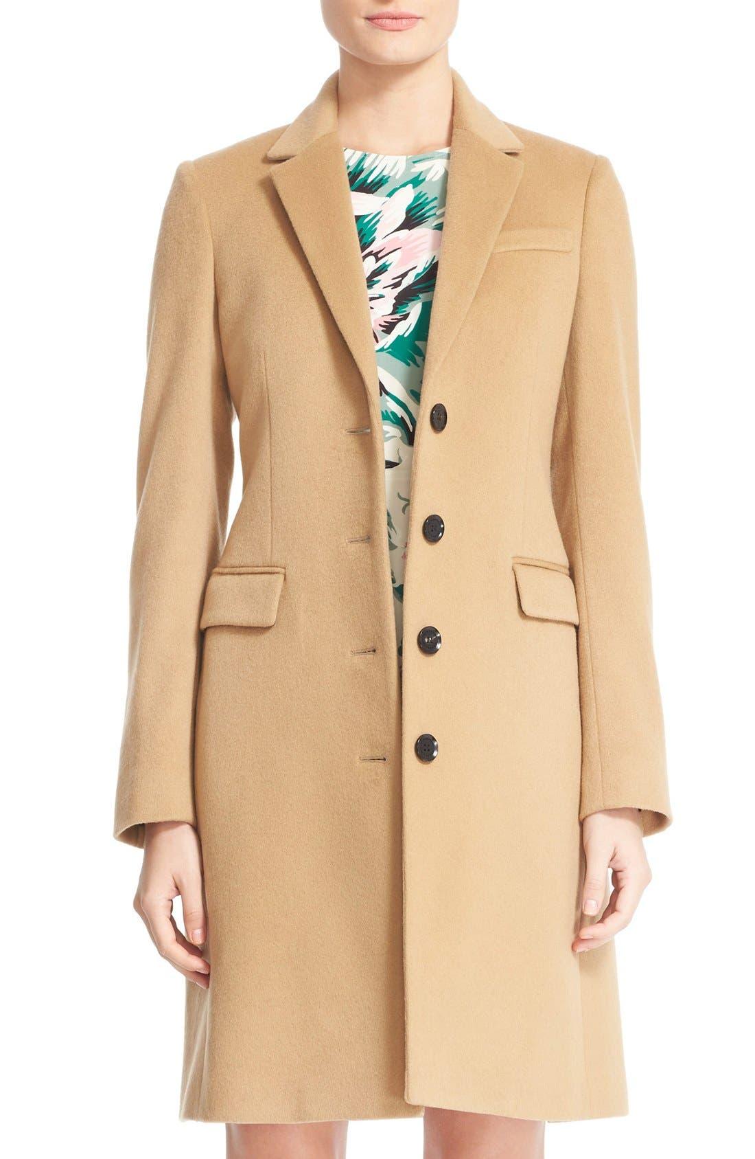 camel coat | Nordstrom