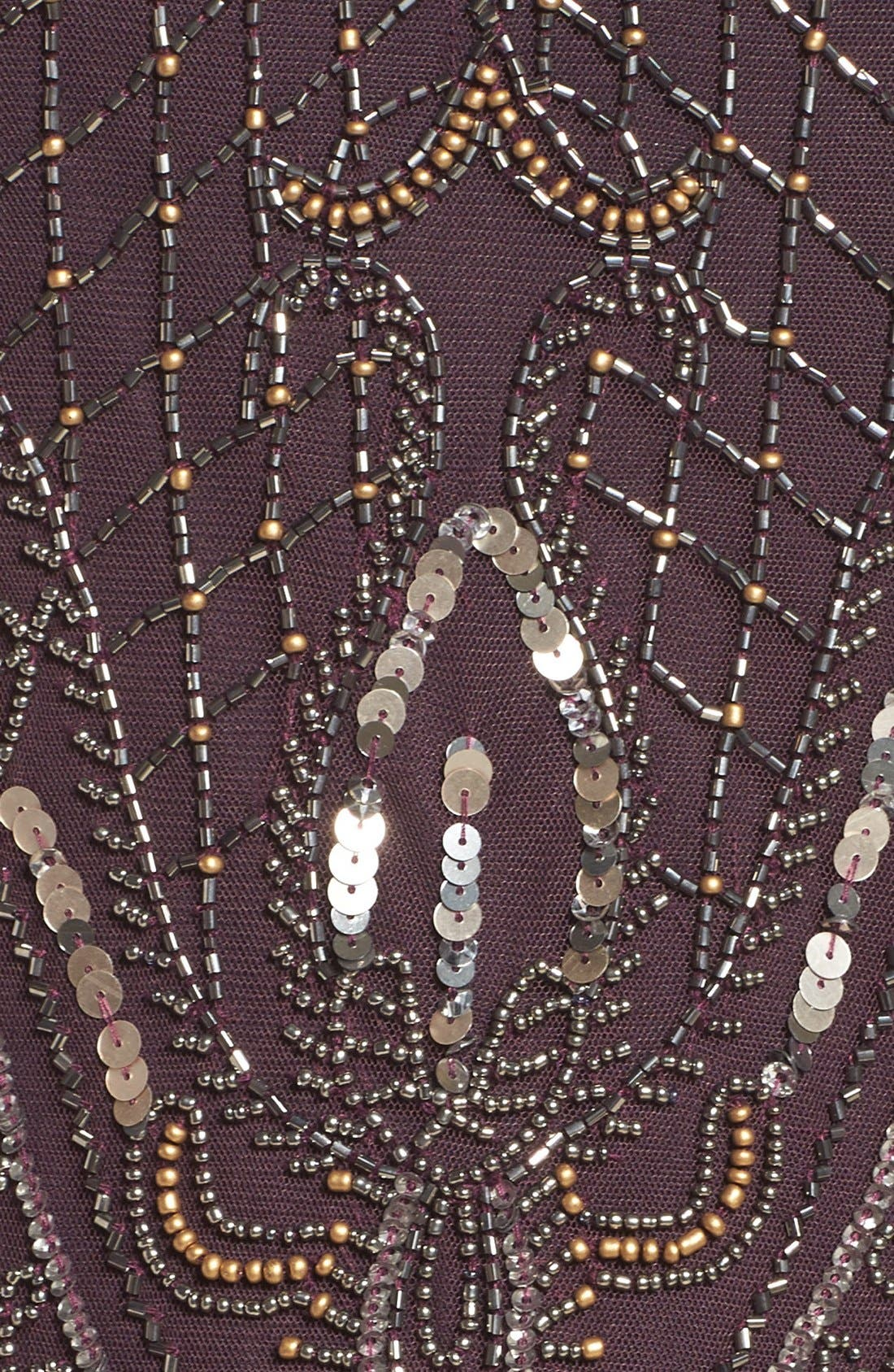 Alternate Image 5  - Pisarro Nights Embellished Gown (Regular & Petite)