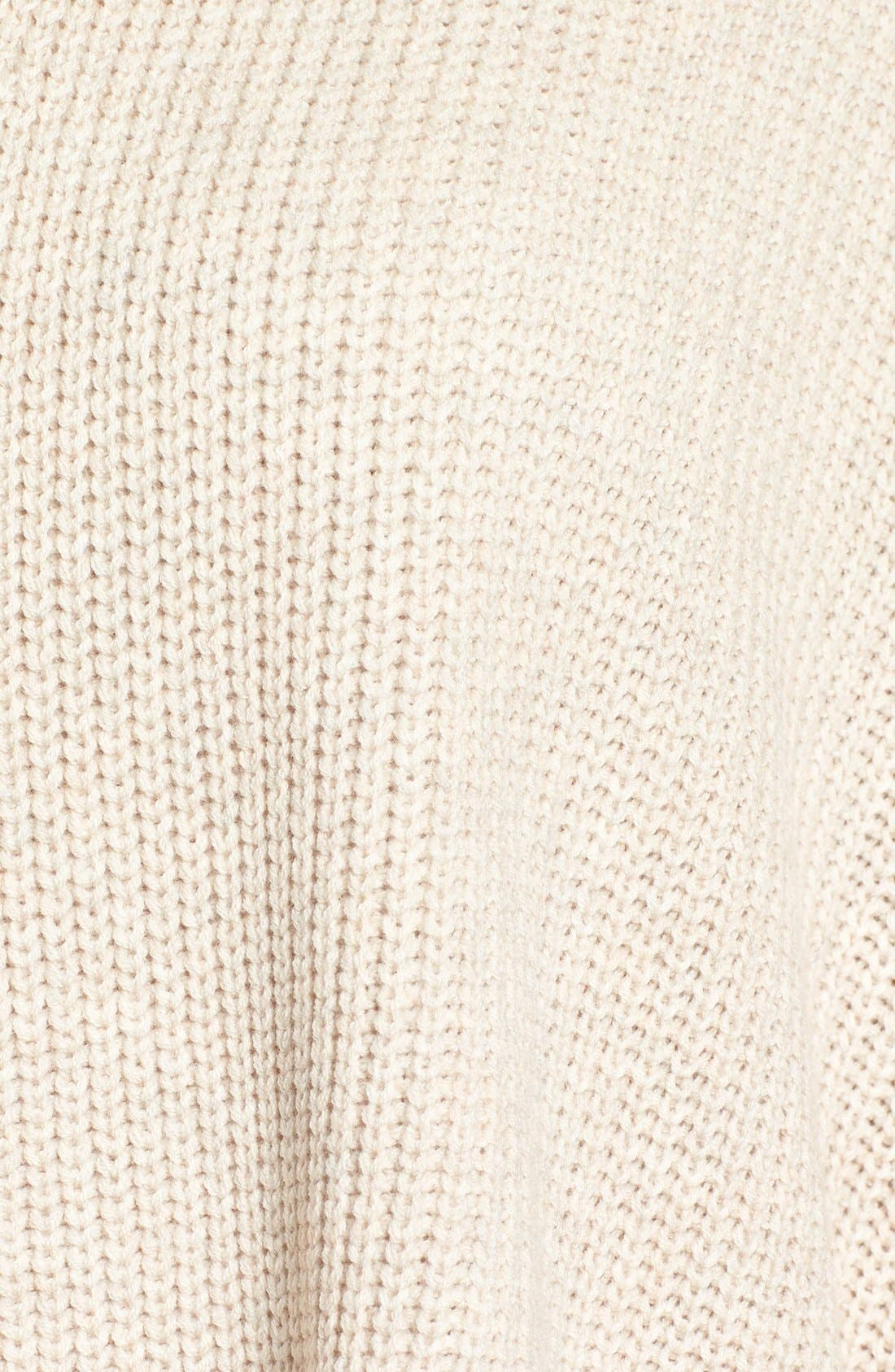 Alternate Image 5  - Halogen® Open Front Cardigan