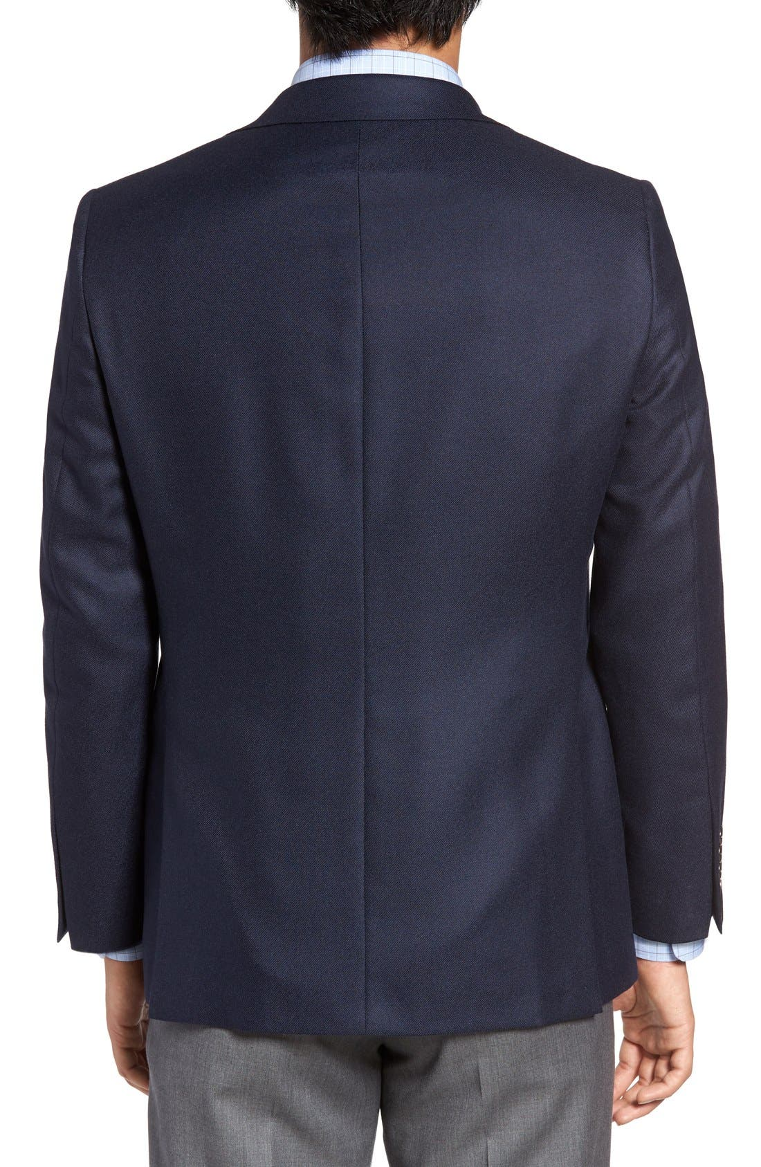 Alternate Image 2  - Hickey Freeman Classic B Fit Cashmere Blazer