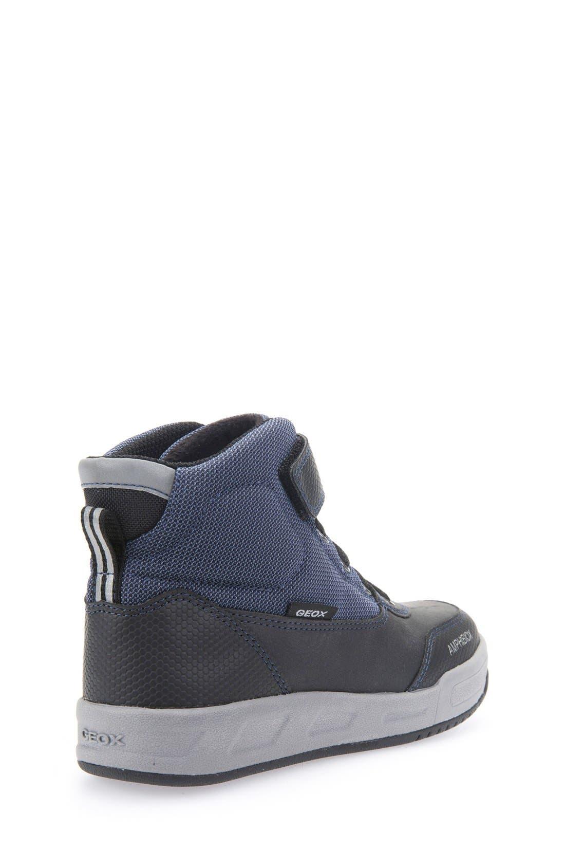 Rolk High Top Sneaker,                             Alternate thumbnail 5, color,                             Navy/ Black