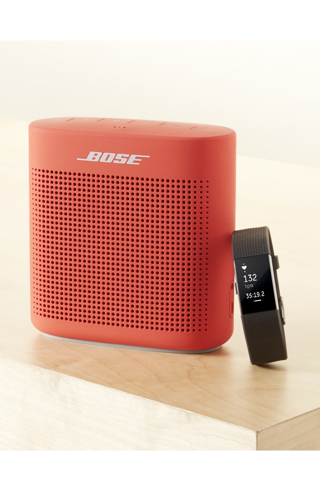 SoundLink<sup>®</sup> Color Bluetooth<sup>®</sup> Speaker II,                             Alternate thumbnail 11, color,                             Coral Red